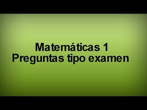 Preparatoria Abierta - matemáticas 1 - preguntas tipo examen - YouTube