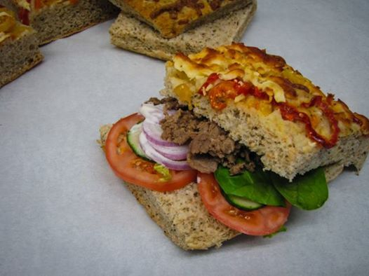 Try making a sandwich out of our banana pepper bread! Or any of our unique breads! #YYC #YYCEats