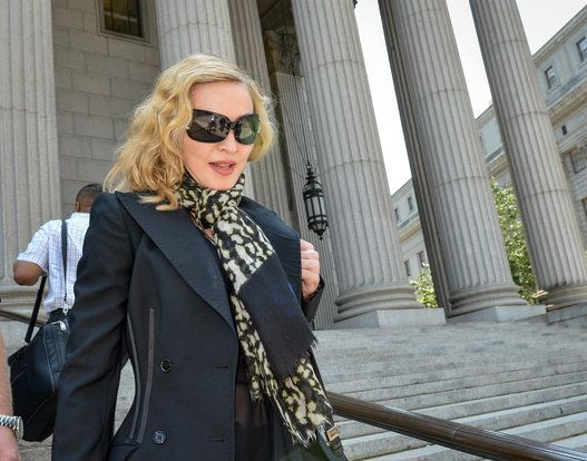 Madonna...This is literally what Madonna wears for jury duty.