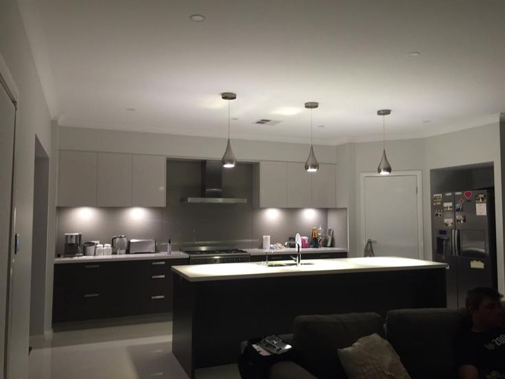 Check out the scrumptious kitchen of Laura from Sydney's Havana One. We love the pendant lights, splashback and island bench she has chosen...actually we love it all! We can certainly see ourselves cooking up a treat in this kitchen. What do you think? #newhome #kitchen #pendantlights #interiordesign
