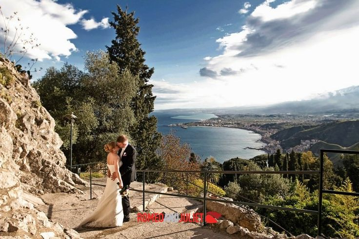 Wedding in Taormina, Italy will be a charming, romantic and unforgettable moment of your wonderful life. www.romeoandjuliet-weddings.com ‪#‎weddings‬ ‪#‎Italy‬