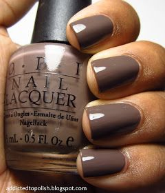 OPI You Don't Know Jacques---an oldie but a goodie. A favorite for fall. :)