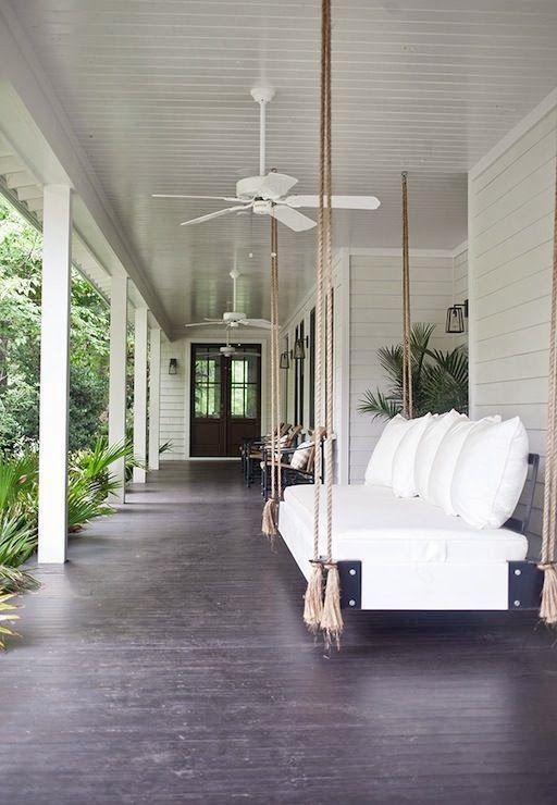 The most beautiful front porch
