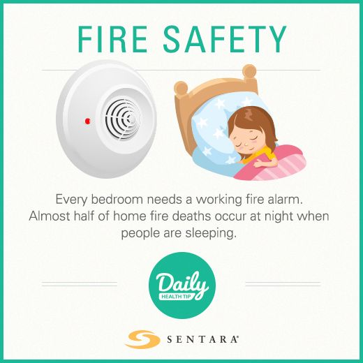 Fire safety tips to keep your family safe.