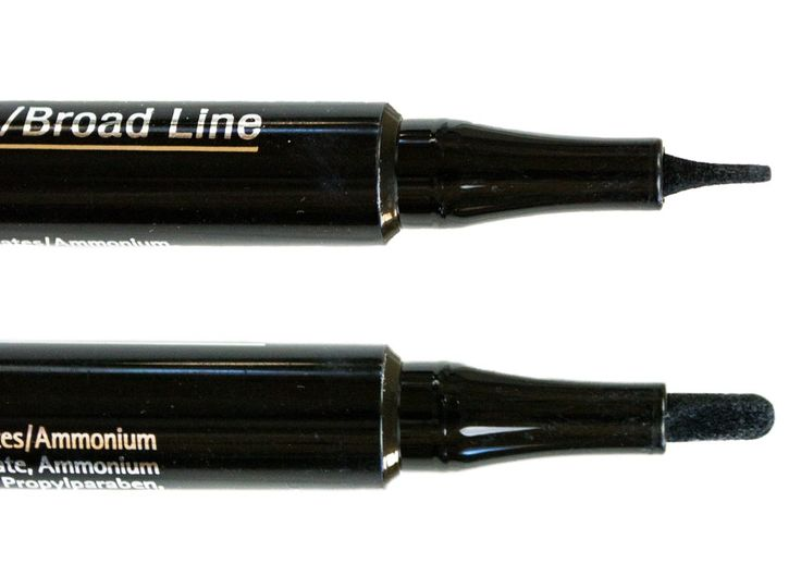 IsaDora ♥ Twin Tip Eyeliner http://beautyboulevard.se/jeyq Recension Review Eyeliner Wing Vinge Double Tip Dubbel Tipp