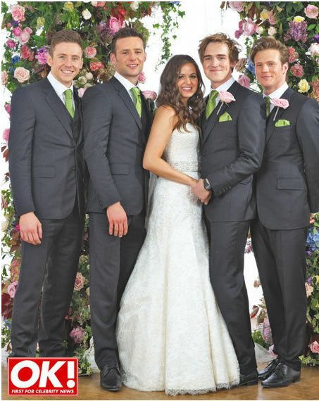 Tom Fletcher And Giovanna Falcone Wedding Exclusive Check Out The First Pictures