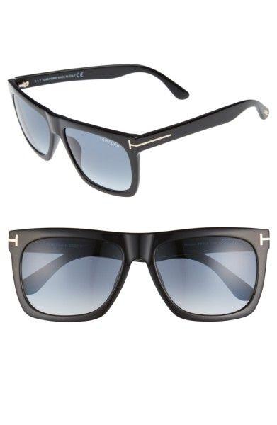 Main Image - Tom Ford Morgan 57mm Flat Top Sunglasses