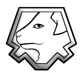 Sello Perro blanco, nº10