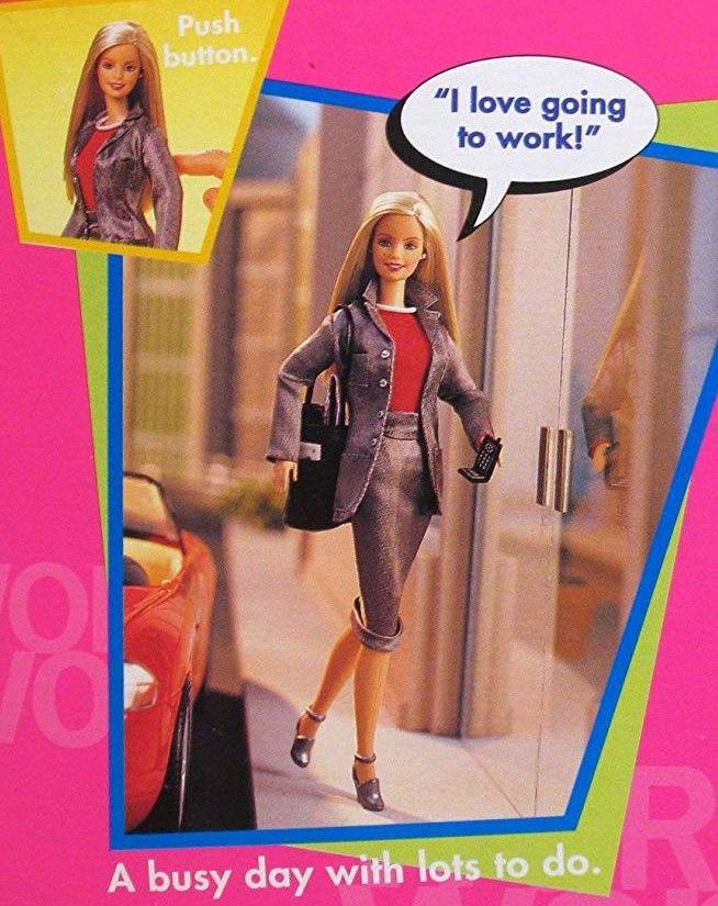 Working Woman Barbie