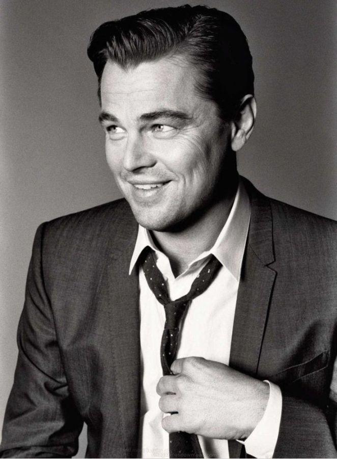 Look de star : Leonardo DiCaprio Esquire photographed by Max Vadukul May 2013