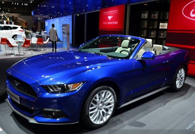 Ford Mustang GT Premium Convertible 2017