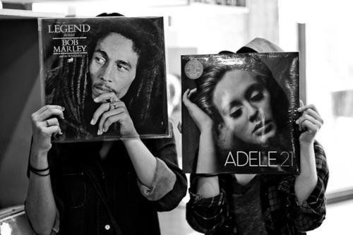 Bob Marley + Adele