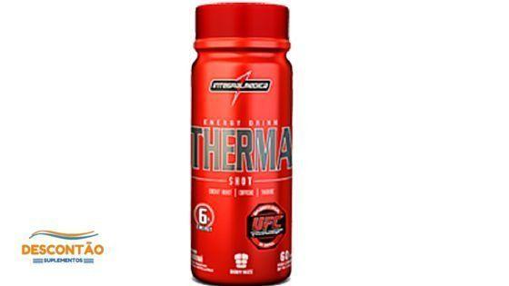 Energético Therma Shot Integralmedica é auxiliar na dieta de perda de peso e fornece energia para o pre treino dando disposição e tirando o sono e moleza do corpo. Suplemento Vitamínico para Atletas na loja do suplemento mais barato do nutri mundo aqui
