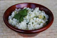 Lime-Cilantro Rice with Pineapple | Our Best Bites: Side Dishes, Cilantro Limes Rice, Bites, Pineapple Rice, Cilantro Pineapple, Cilantro Lime Rice, Limes Cilantro Rice, Limecilantro Rice, Favorite Recipes