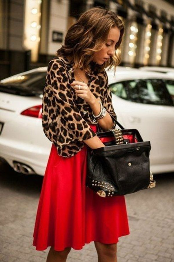 Leopard Print Outfits For Girls (33)