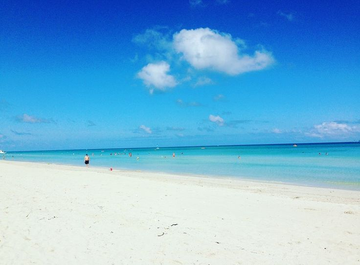 Love at first  sigth  with Varadero beach