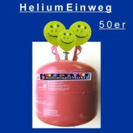 Helium-Einweg-Behälter /50er