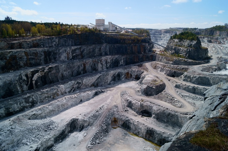 500px / Photo Parainen quarry by Esa Paulasto - My nextdoor neighbour, a limestone quarry, is only about a mile from my home.