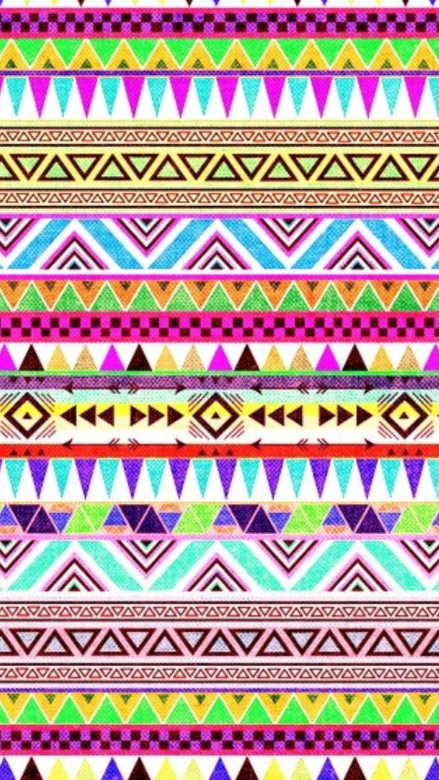 Cute tribal print wallpaper | Cool wallpapers | Pinterest
