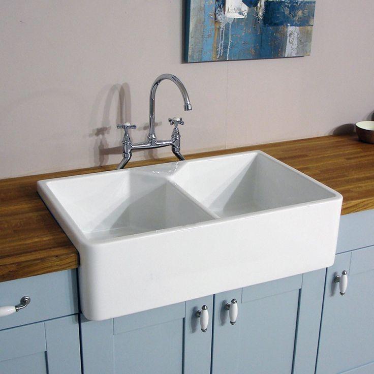 The 25+ best Ceramic kitchen sinks ideas on Pinterest   Double ...
