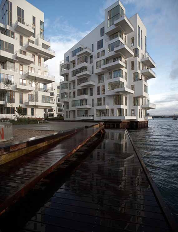 Apartment Architectural Buildings in Denmark Image