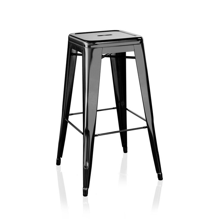 The H stool by Tolix stands for functionality and industrial aesthetics. This style is one of the most iconic ones within the Tolix collection. Sturdi...