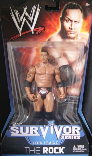 THE ROCK - WWE PAY PER VIEW 11 WWE TOY WRESTLING ACTION FIGURE by MATTEL. $19.99. The attire design is from the Survivor Series 1998 WWE Pay Per View!. WWE Pay Per View 11 - Survivor Series Heritage!. THE ROCK - WWE PAY PER VIEW 11 WWE TOY WRESTLING ACTION FIGURE
