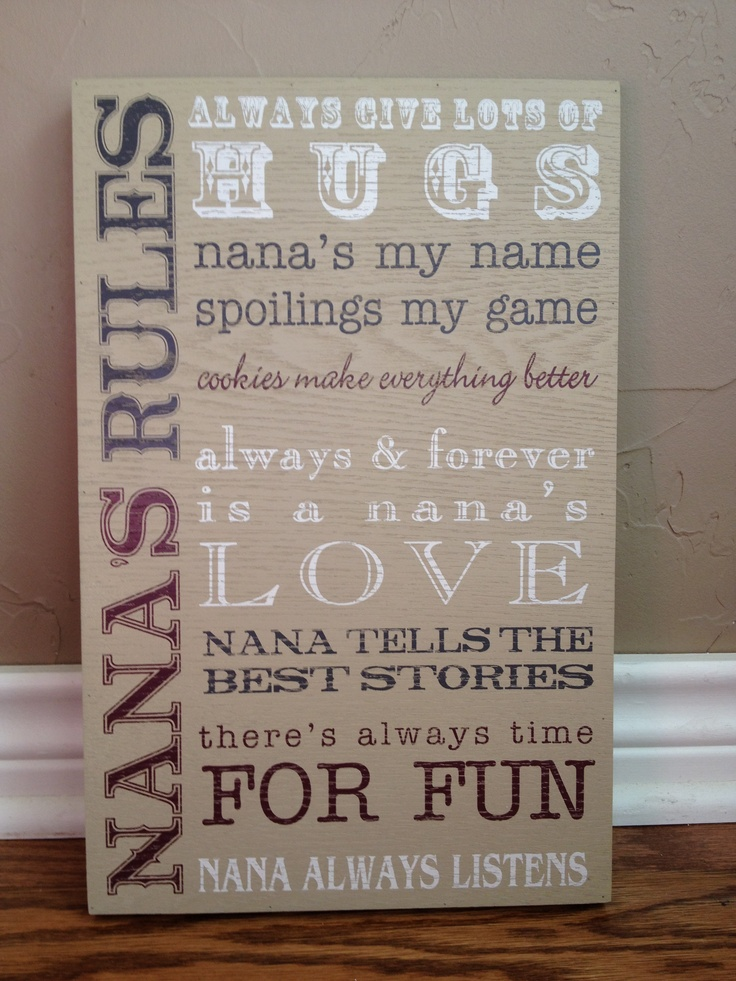 For my Mom.....the absolute BEST Grandmother to our girls!!!!!!  They love her so much & they know without a doubt she loves them just as much if not more!