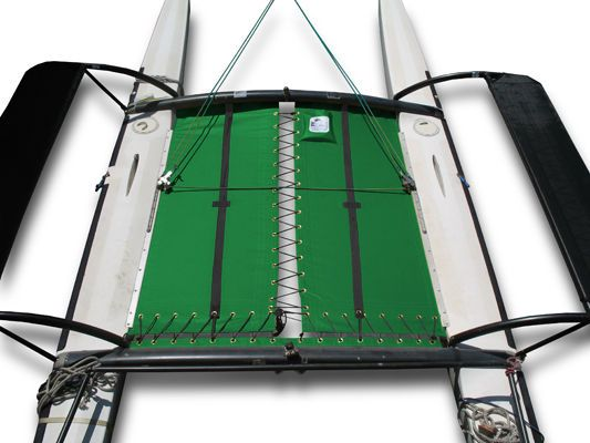 Hobie 18 Cat Tramp Catamaran Trampoline - Green Vinyl H18