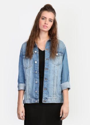 Стильный джинсовый жакет за 2799р.- от OSTIN