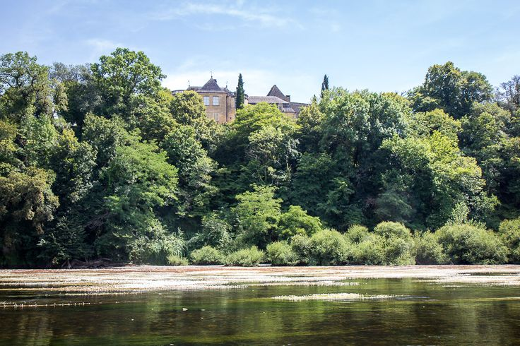 Kayaking on the Dordogne, France
