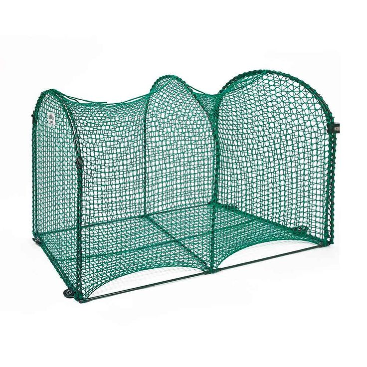 """Kittywalk Deck and Patio Outdoor Cat Enclosure Green 48"""" x 18"""" x 24"""""""