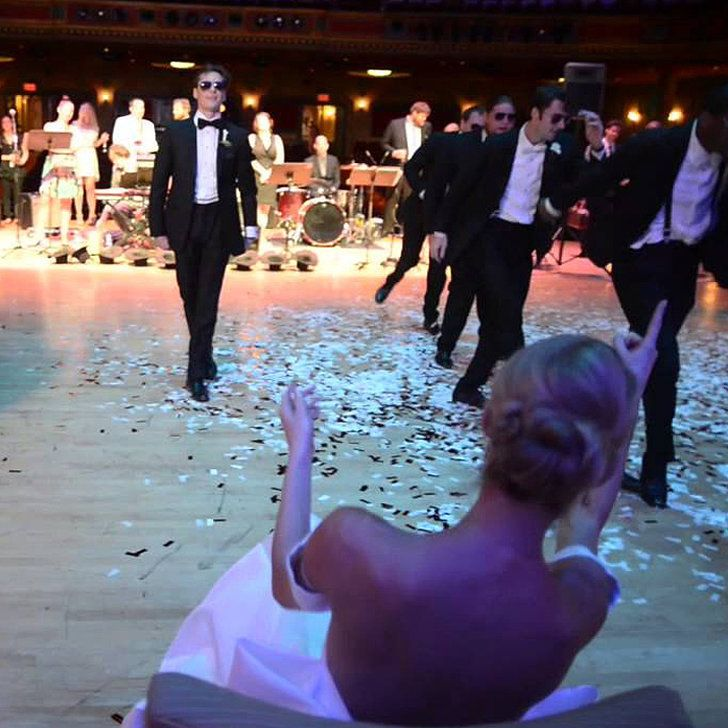 Watch This Professional Dancer Surprise His Ballerina Bride With an Epic Wedding Dance