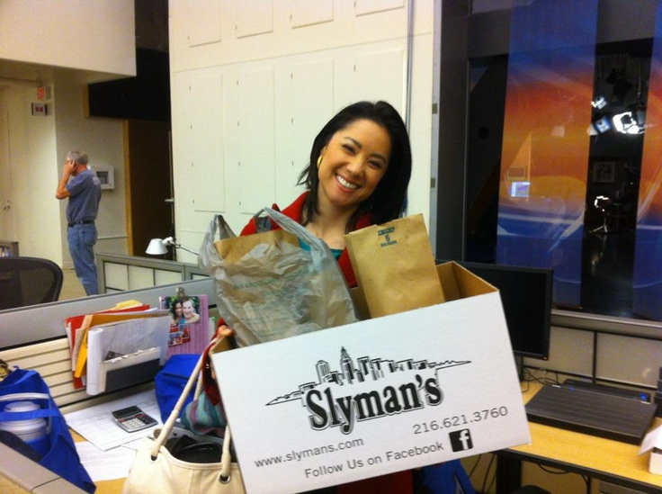 3/16/12 - Stephanie's back with food from her first live remote at Slyman's!