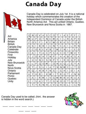 Canada Day Activities for Toddlers 2014