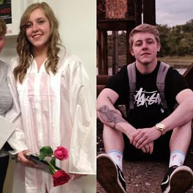 Transgender man that used to be a woman shares before & after photos According to Cameron Russo: The left is 2013 at my high school graduation. A month before I cut my hair a month before I moved out to start my transition a month before my stepdad told me I was making my mom cry herself to sleep because of my decisions a month before my last suicide attempt. The right is 2016 a bit over two years on hormones and happier than ever. If you asked2013 me where I saw myself in the future I would…