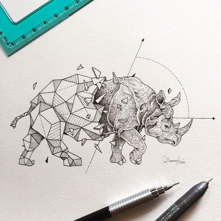 Geometric+Beasts+:+les+animaux+polygones+de+Kerby+Rosanes
