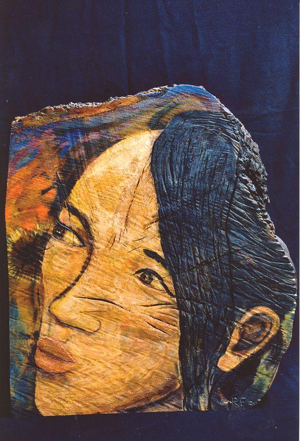Mondridi Oil in carved Oak