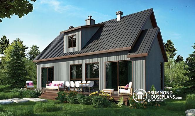 180 best images about lakefront cottage home plans for Modern farmhouse cost to build