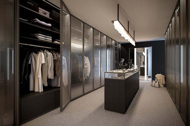CGI - FREE SCENE Walk-In-Closet on Behance 3 checkroom (衣帽间 - bao vestidor