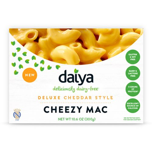 Deluxe Cheddar Style Cheezy Mac - Daiya Foods, Deliciously Dairy-Free Cheeses, Meals & More
