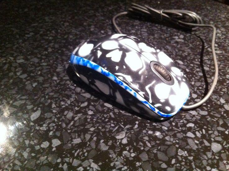 Lady Death theme PC Case, the mouse