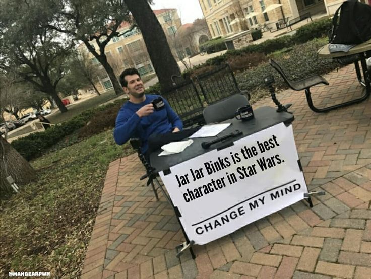 I mean he is a Sith Lord and all..  sorry not sorry. @hamillhimself I still love you. #starwars #starwarsmemes #jarjarbinks #stevencrowder @louderwithcrowder @bess091 #changemymind #meme #politics #memesdaily #memes #funny #igers #photooftheday #followme #follow #picoftheday