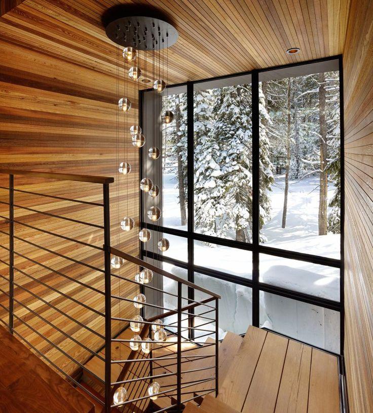 glas pendelleuchte treppenhaus - Google-Suche