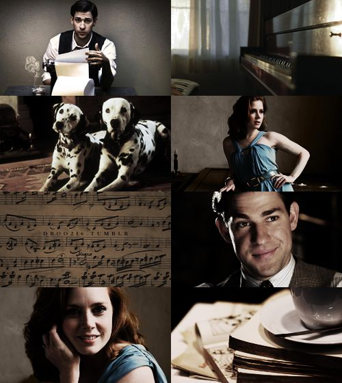 Melody first, my dear, and then the lyrics…I would love to see these two do 101 Dalmatians!     John Krasinski as Roger RadcliffeAmy Adams as Anita Radcliffe