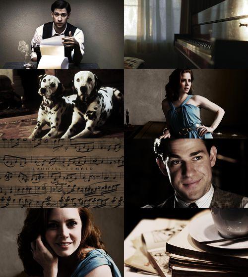 Melody first, my dear, and then the lyrics…- 101 Dalmatians - John Krasinski as Roger Radcliffe, Amy Adams as Anita Radcliffe
