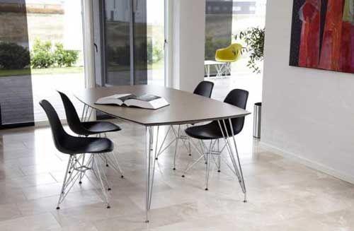 Flot spisebord med udtræk fra Brdr. Andersen #danskdesign #design