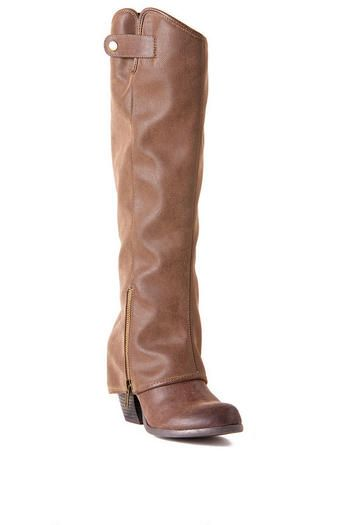 Fergilicious by Fergie Shoes, Ledge Cuff Boot