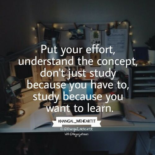 Study Quotes - Daily Inspiration