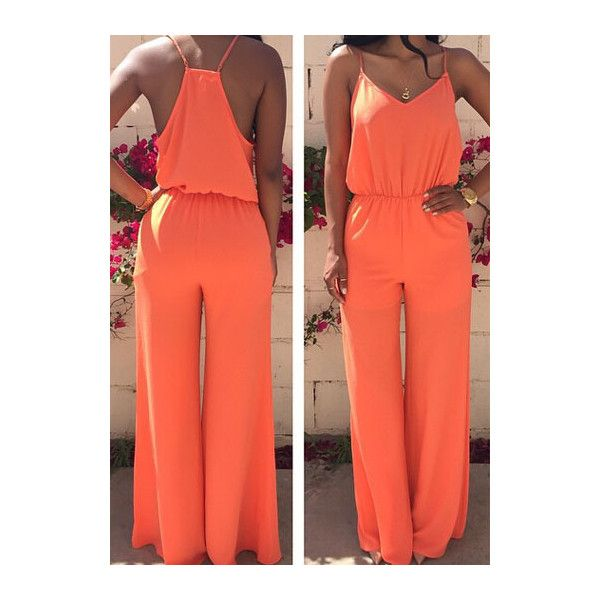 17 Best ideas about Orange Playsuits on Pinterest | Tall playsuit ...